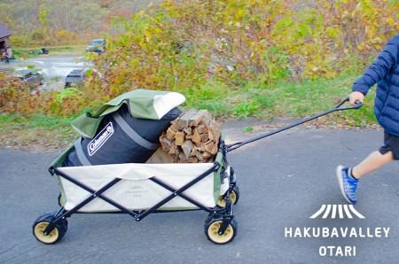【令和3年4月中旬以降発送】HAKUBA VALLEY OTARI オリジナルアウトドアワゴン