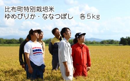 JAぴっぷ町 特別栽培米 ゆめぴりか・ななつぼし精米 各5㎏セット 新米発送開始!