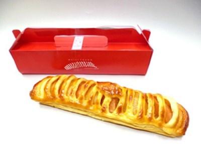 [0013]明月堂の「ながーいアップルパイ」 2本セット 長野県飯綱町産 紅玉りんご使用