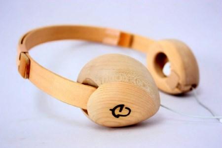 【nokutare】木製ヘッドフォン「ヒダノオト」 e140