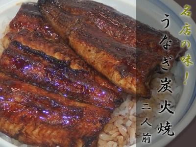 うなぎ 炭火焼 2人前  G17-01