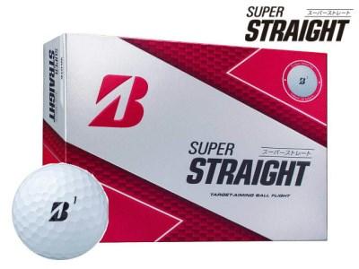 SUPER STRAIGHT ゴルフボール ホワイト 3ダース T31-01