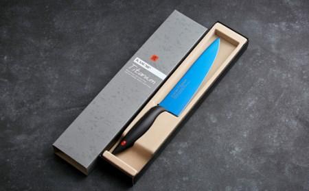 霞 KASUMI チタンコーティング 剣型包丁  H37-02