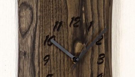 栗 一枚板時計 JTK002-OGK  D38-03