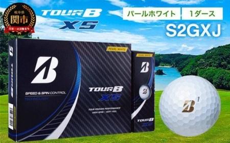 TOUR B XS ゴルフボール パールホワイト 1ダース (ゴルフボール / ブリヂストン・スポーツ) T18-06