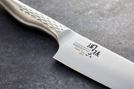 H20-01 関孫六オールステンレス「匠創」三徳包丁&ペティナイフセット