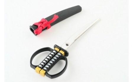 H5-30 日本刀はさみ(黒)