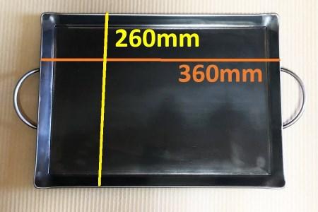 M20S16 バーベキュー用極厚鉄板(ファミリー用)