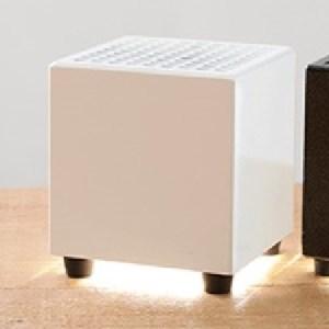 M92S02 持ち運べる光触媒空気清浄機 フォトンクリーナー ホワイト