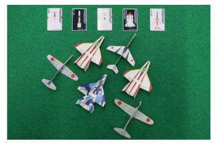 551 岐阜かかみがはら航空宇宙博物館年間パスポートとオリジナル紙飛行機セット