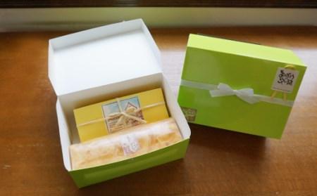 スフレチーズと生シューロールケーキ[A0100]