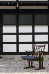 ダイニングアームチェア(肘付の椅子)オーク材 飛騨の家具 イバタインテリア DCA-49(肘付)[k0053]