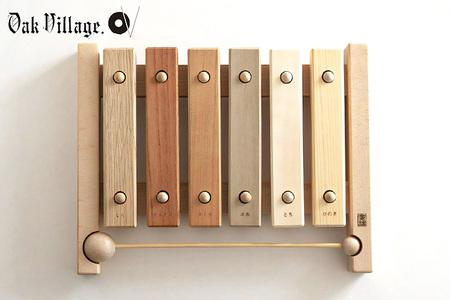 【2638-0013】小さな森の合唱団 童話版 木琴【音色も豊かな知育玩具。持ち運びも便利な小サイズ】