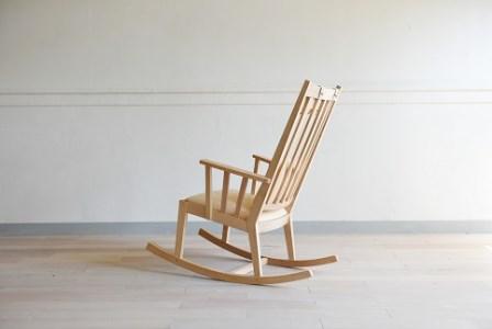 【10060003】M-chair Rocking〈ナチュラル革〉