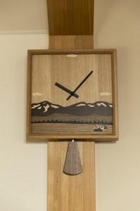 【10002502】象嵌細工の時計