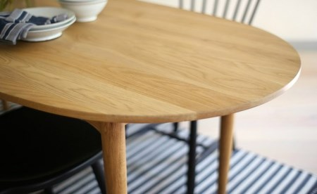 【10120001】Oval table & Lilla Åland