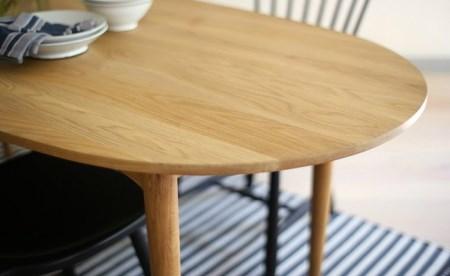 【10100005】Oval table & Lilla Åland