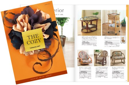 【2600-0142】 カタログギフト THE COZY 「バラ」