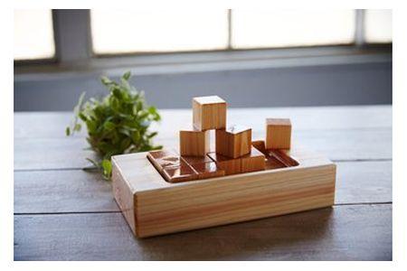 【2607-2085】※ひのき加湿器(木製品)