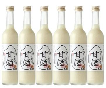 山ちゃんの米麹甘酒6本セット飲む点滴+美容液米麹甘酒・無添加・ノンアルコール甘酒