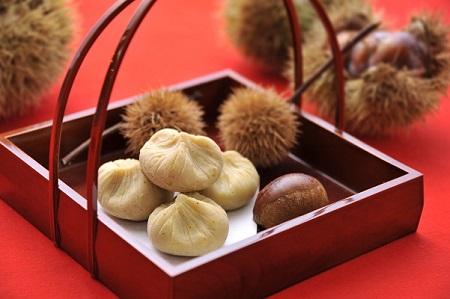 季節の和み「栗金糖」15個入(梅屋)