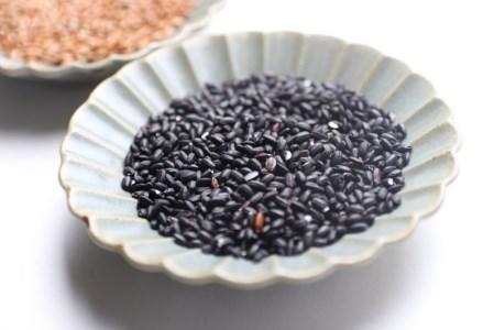 白川郷の古代米2種類セット 黒米 赤米 もち米 玄米[S033]