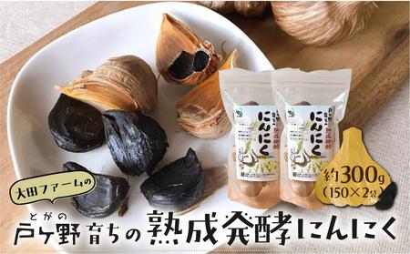 甘さが自慢!熟成発酵にんにく 黒ニンニク 白川郷産 [S013]