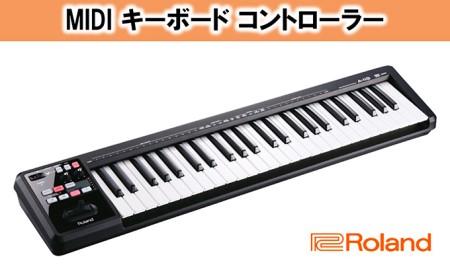 【Roland】MIDI キーボード コントローラー A-49-BK【配送不可:離島】