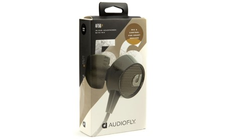 [№5786-7969]AUDIOFLY マイク付イヤホン (黒) AF563