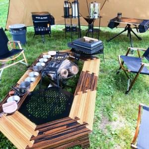 0100-18-02 ANCAM(アナキャン)オリジナルメタルテーブル メタヘキテ Mサイズ-ラック