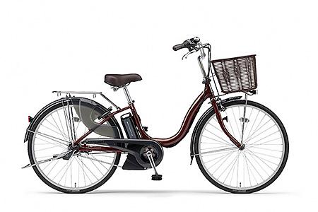 191YAMAHA電動アシスト自転車(ナチュラM)(26インチ・カラメルブラウン)