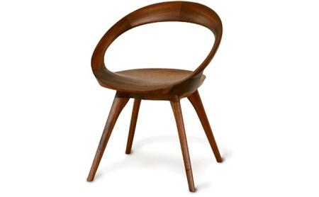 起立木工 ANELLO(アネロ)チェア ブラックウォールナット/ウレタン塗装 椅子