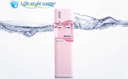 【12回定期配送】日本のおいしい天然水12L×2本(smart201ピンク)【配送不可:北海道・沖縄・離島】
