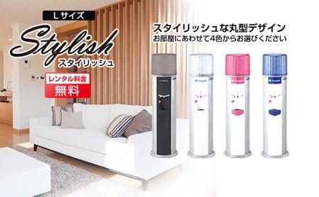 【12回定期配送】日本のおいしい天然水12L×2本(スタイリッシュL003ブルー)