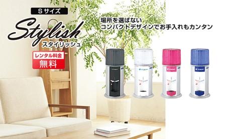 【12回定期配送】日本のおいしい天然水12L×2本(スタイリッシュS104ホワイト)