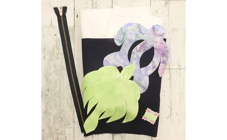 キャシー中島のキルトキット ココヤシとホヌのクッションとマスクキット(3個)セット
