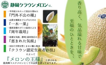 【訳あり】クラウンメロン 1玉入