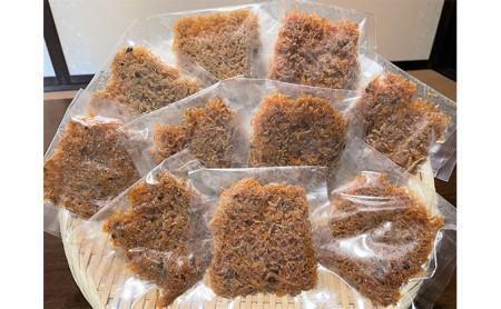 【小分け】釜揚げしらす山椒煮40g×10袋
