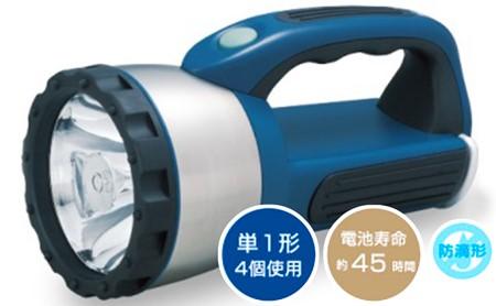 防災用強力ライト&単1形乾電池セット