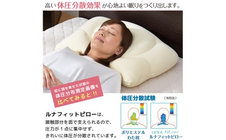 Luna Fit pillow(ルナフィットピロー) 2個セット【まくら】