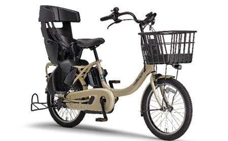 電動アシスト自転車 PAS Babby un SPリヤチャイルドシート 標準装備モデル マットカフェベージュ