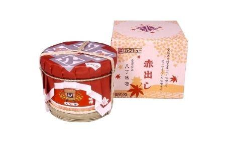 赤出し味噌 化粧樽 1.6kg(400g×4袋)【1200019】