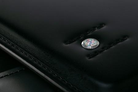 牛革ランドセル 色:ツヤケシ黒(フラットファイル対応サイズ)