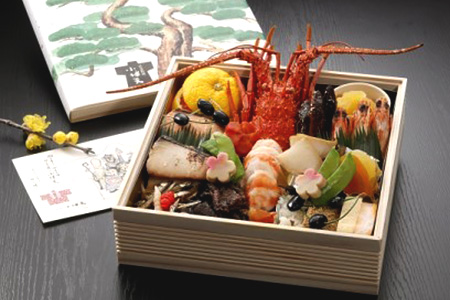 創業大正九年 日本料理 小伴天のプレミアムおせち〈一段重〉