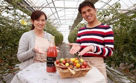 A. ジュエリートマト&贅沢トマトジュースセット