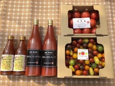 トマト好きにはたまらない 贅沢なトマトセット H004-003