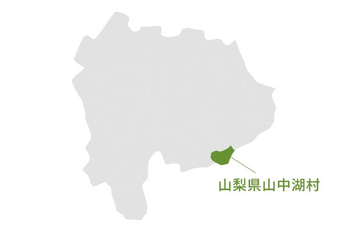 山梨県山中湖村の地図