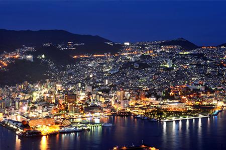 世界新三大夜景「稲佐山から見える夜景」
