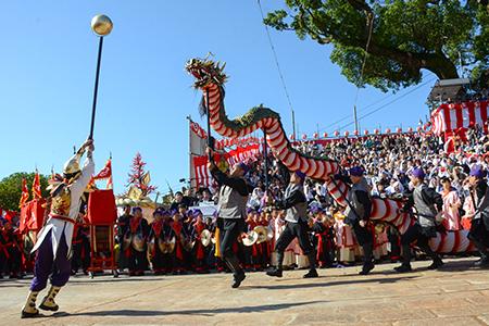 歴史ある秋の大祭「長崎くんち」