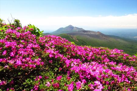 多くの登山客をひきつける霧島の大自然